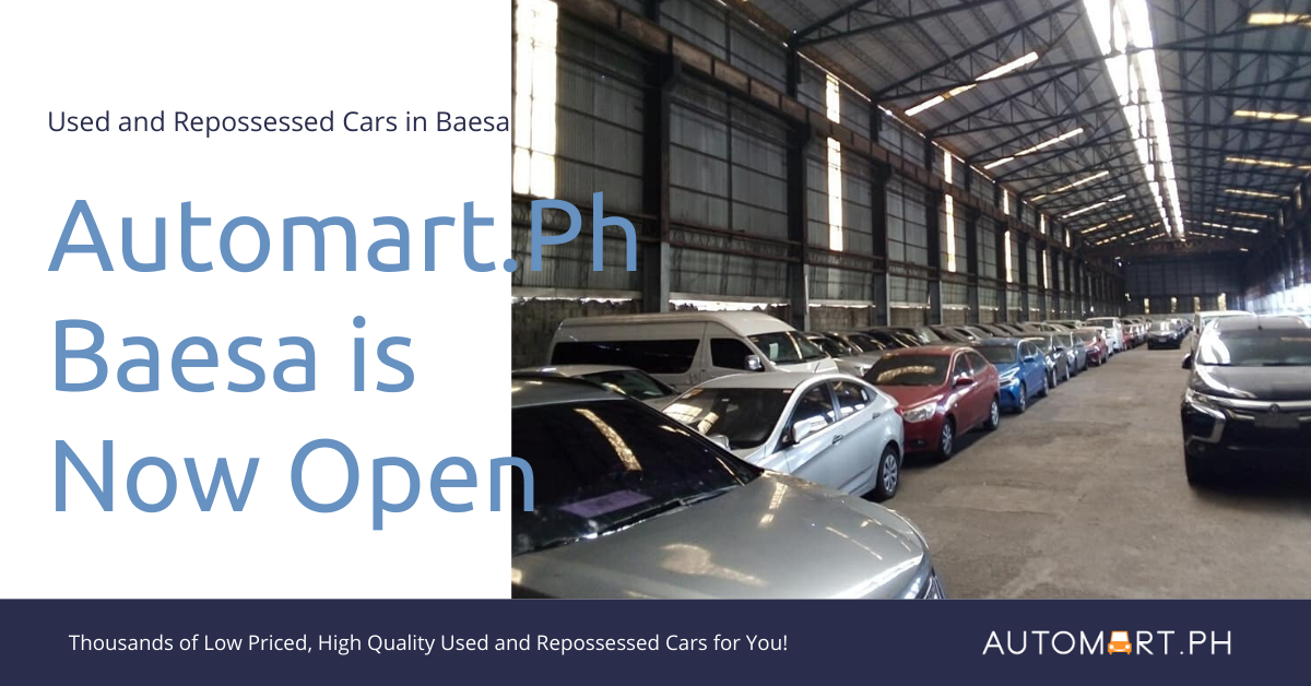 Used Cars Quezon City: Automart.Ph Opens Lot in Baesa
