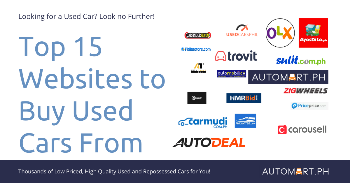Top 15 Sites to Buy a Used Car in the Philippines