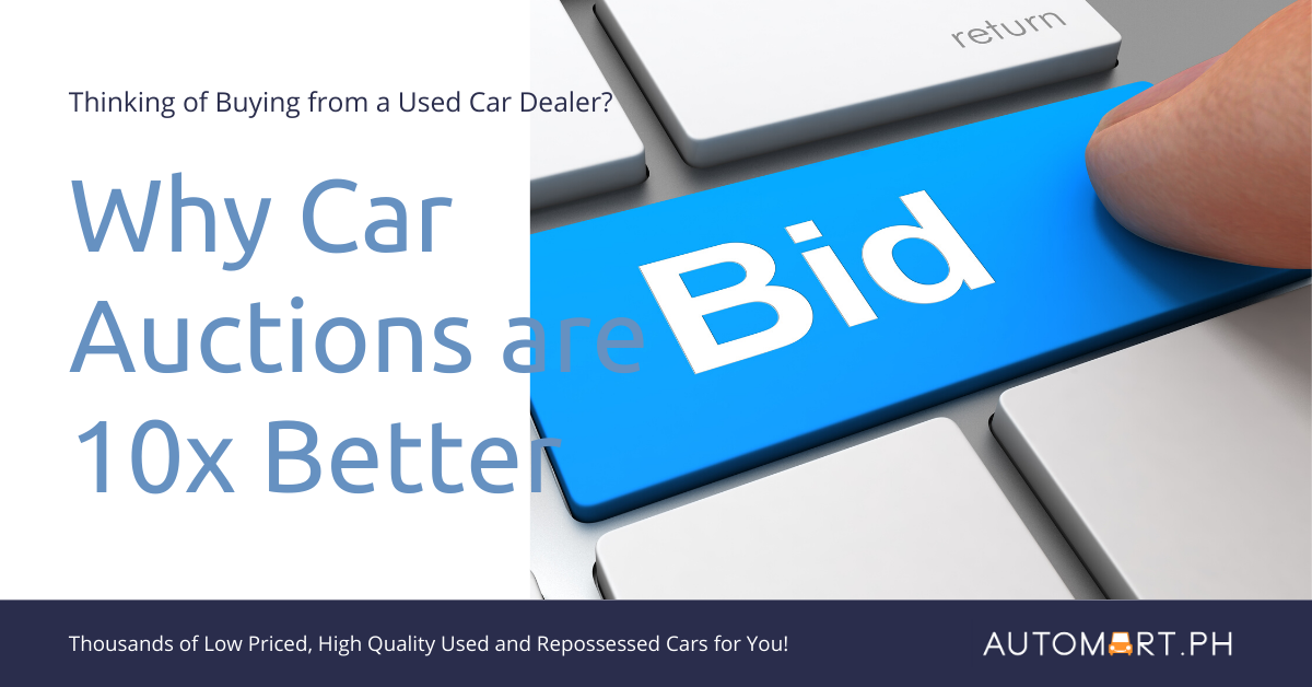 Why are Car Auctions 10x Better than Buying from Dealers?