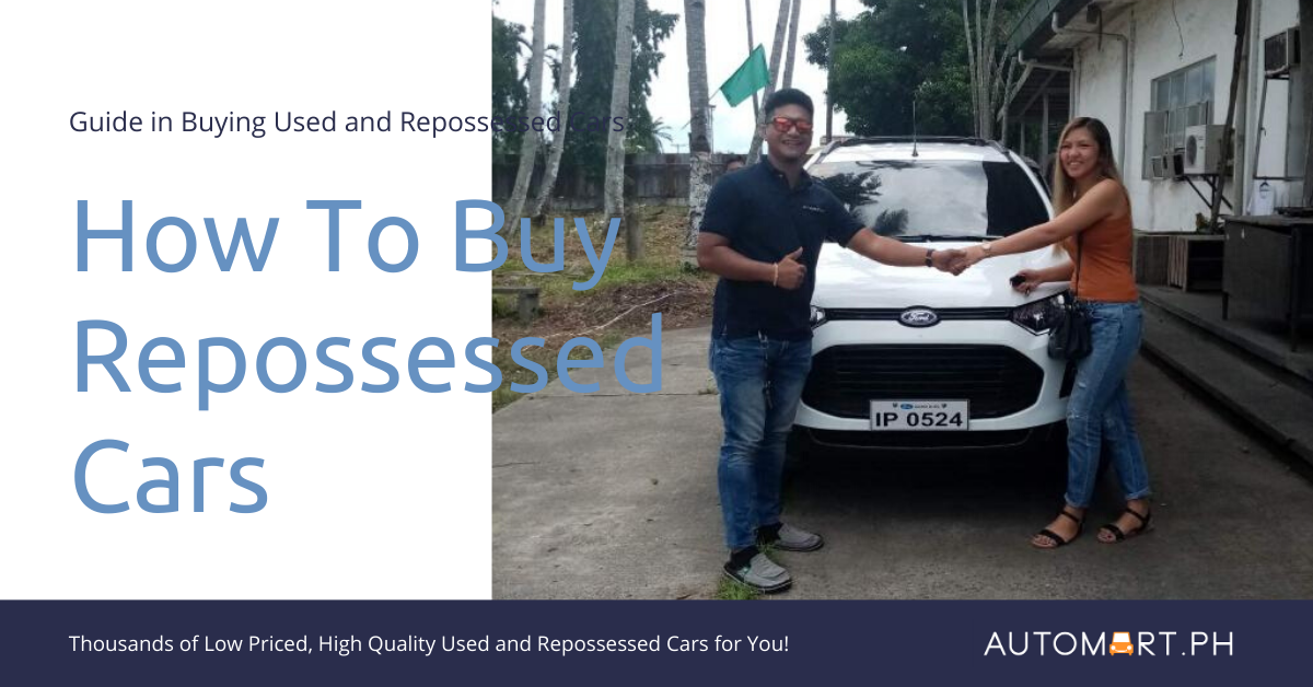 How To Buy Repossessed Cars, Where and Why