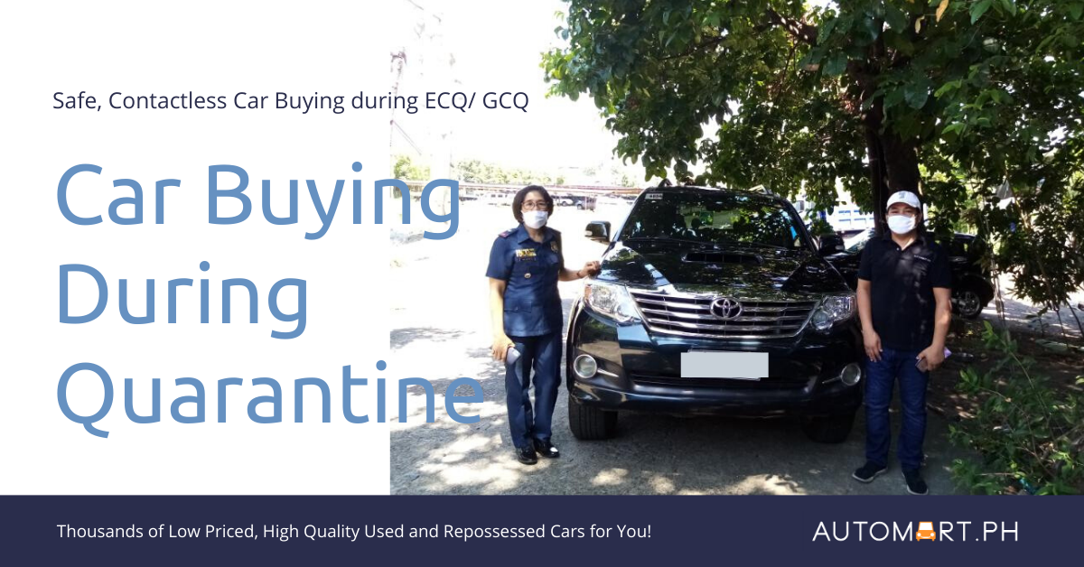 Online, Contactless Car Buying for ECQ