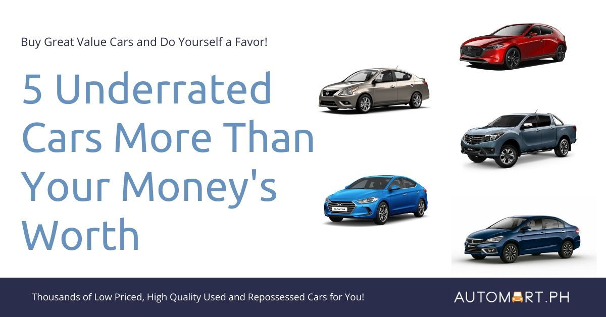 Five Underrated Cars That Will Give You More Than Your Money's Worth