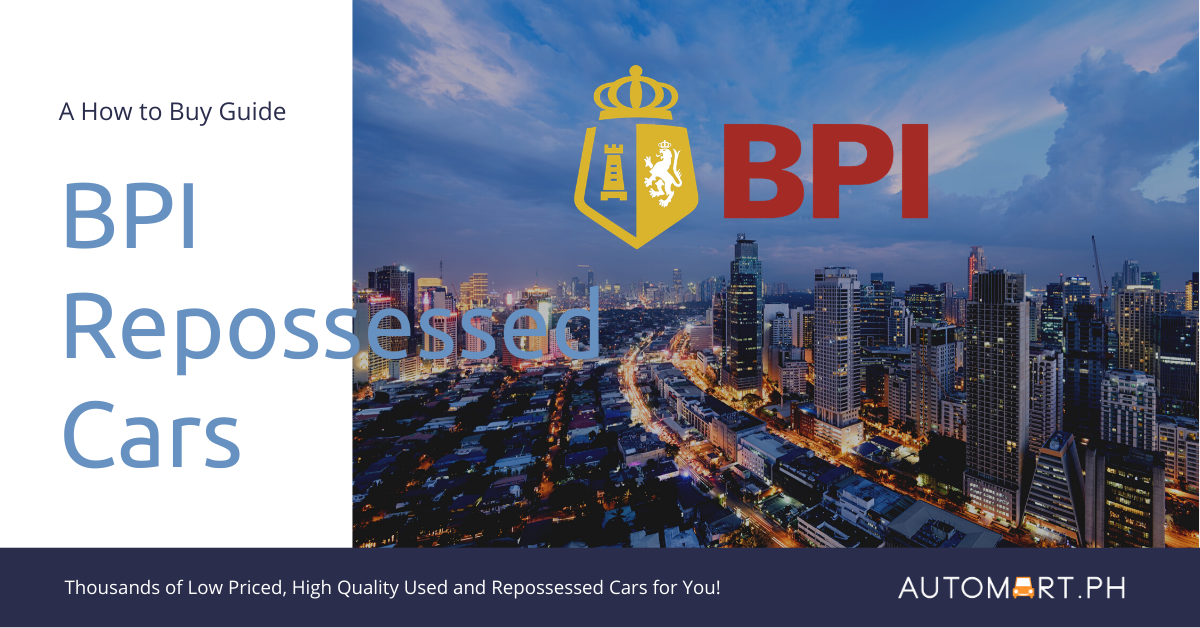 How to Buy BPI Repossessed Cars and Purchase Bank Auction Cars