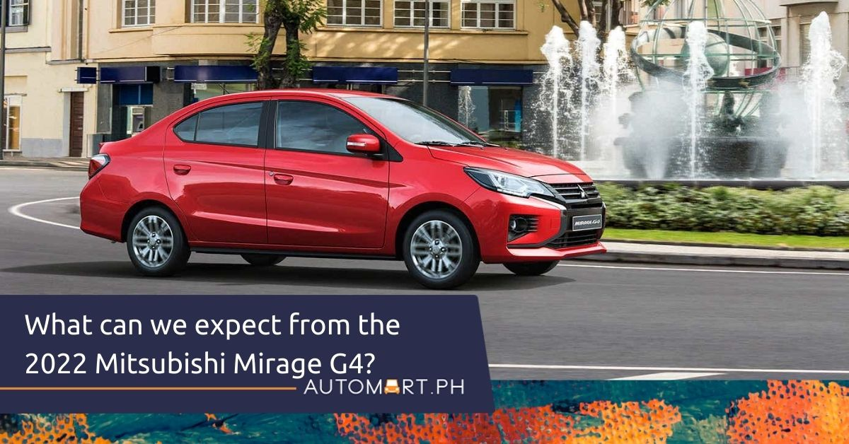 What can we expect from the 2022 Mitsubishi Mirage G4?