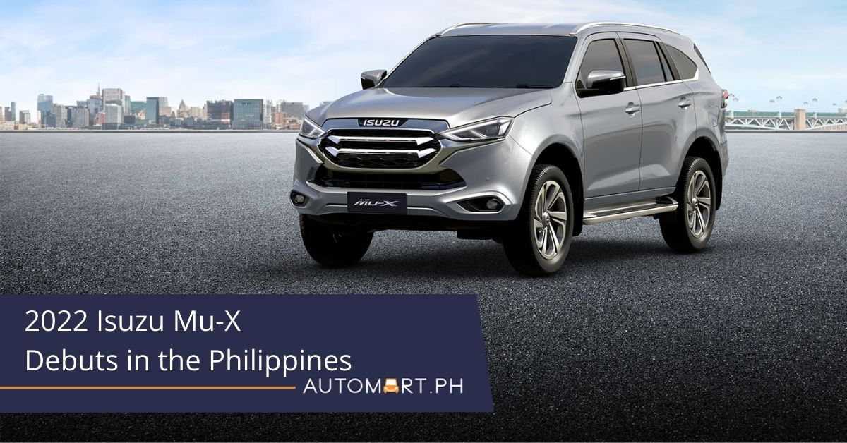 2022 Isuzu Mu-X Debuts in the Philippines, Starts at PHP 1,590,000