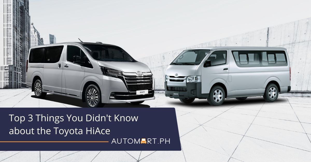 Car Trivia of the Week: Top 3 Things You Didn't Know About the Toyota HiAce