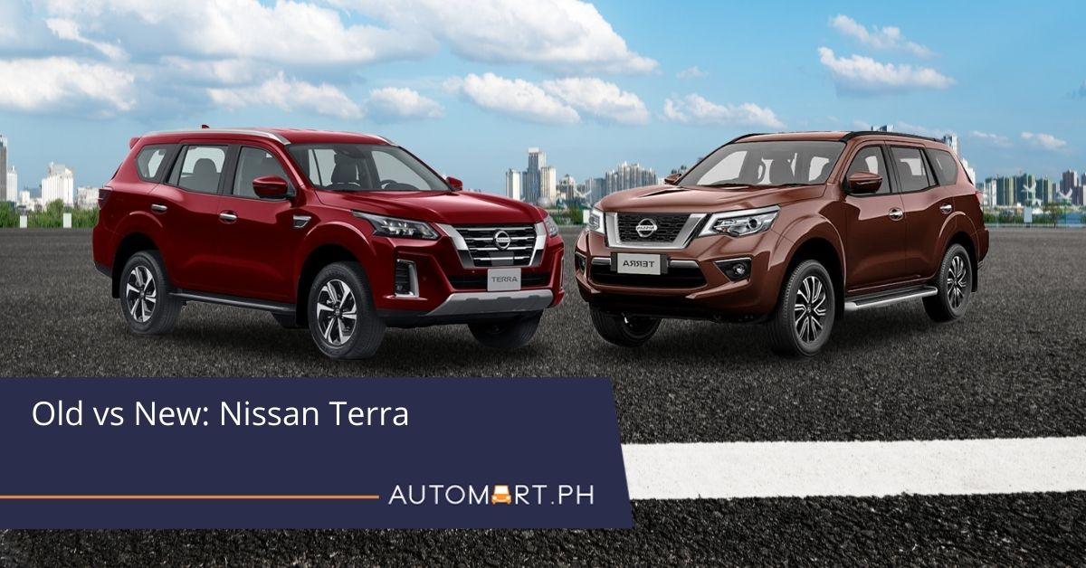 Old vs. New: Nissan Terra