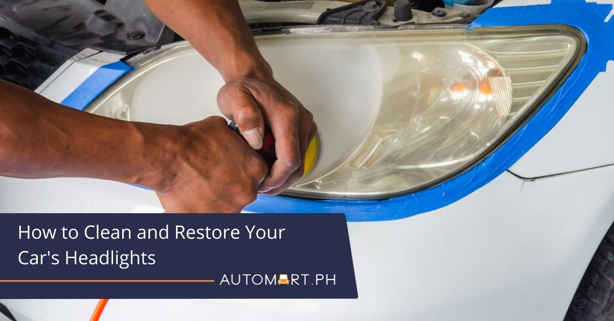 How to Clean and Restore Your Car's Headlights