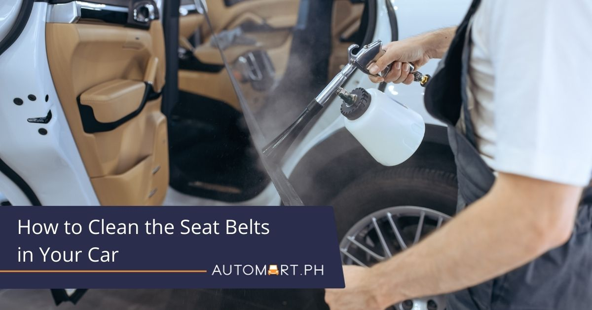 How to Clean the Seat Belts in Your Car