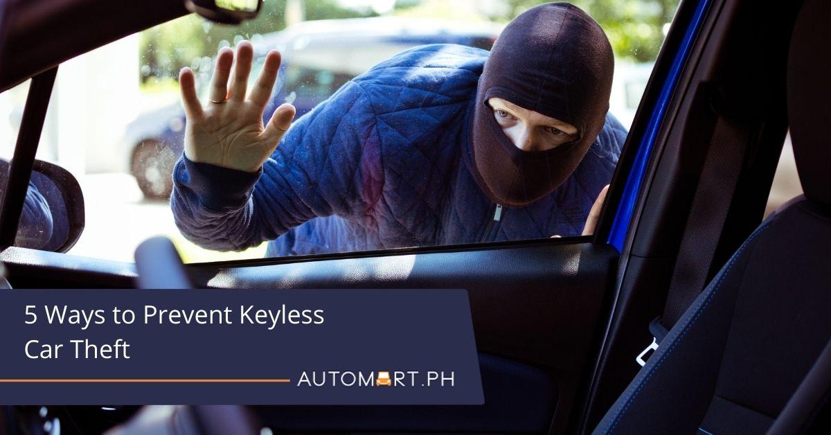 5 Ways to Prevent Keyless Car Theft