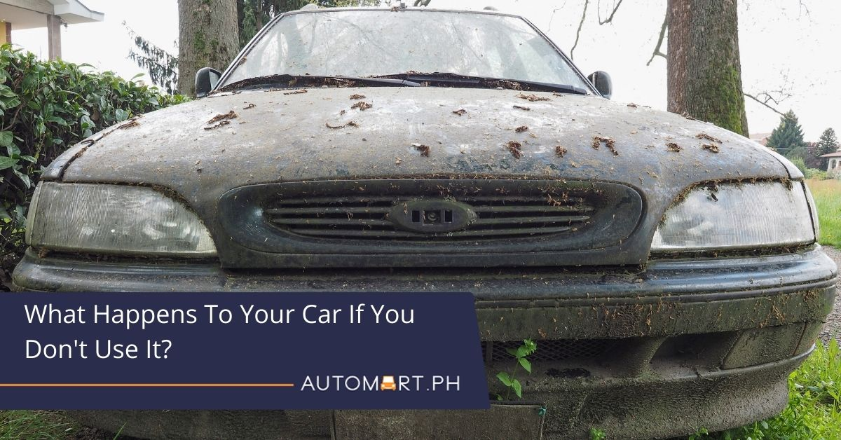 What Happens To Your Car If You Don't Use It?