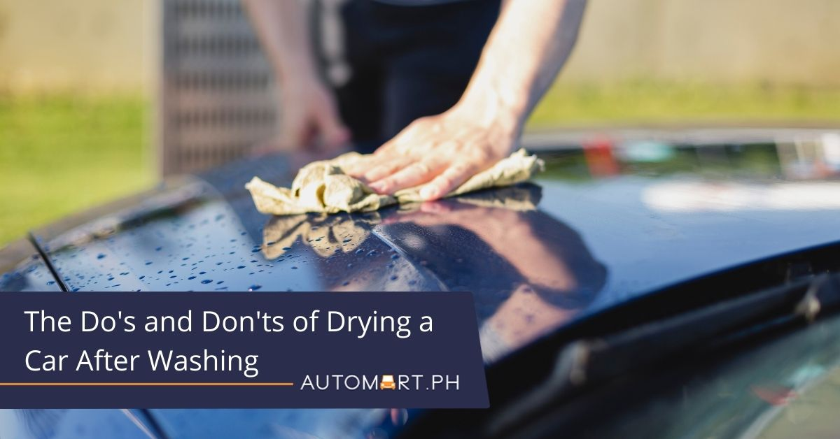How to Dry a Car: The Do's and Don'ts of Drying a Car After Washing