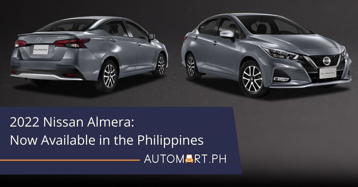 2022 Nissan Almera: Now available in the Philippines