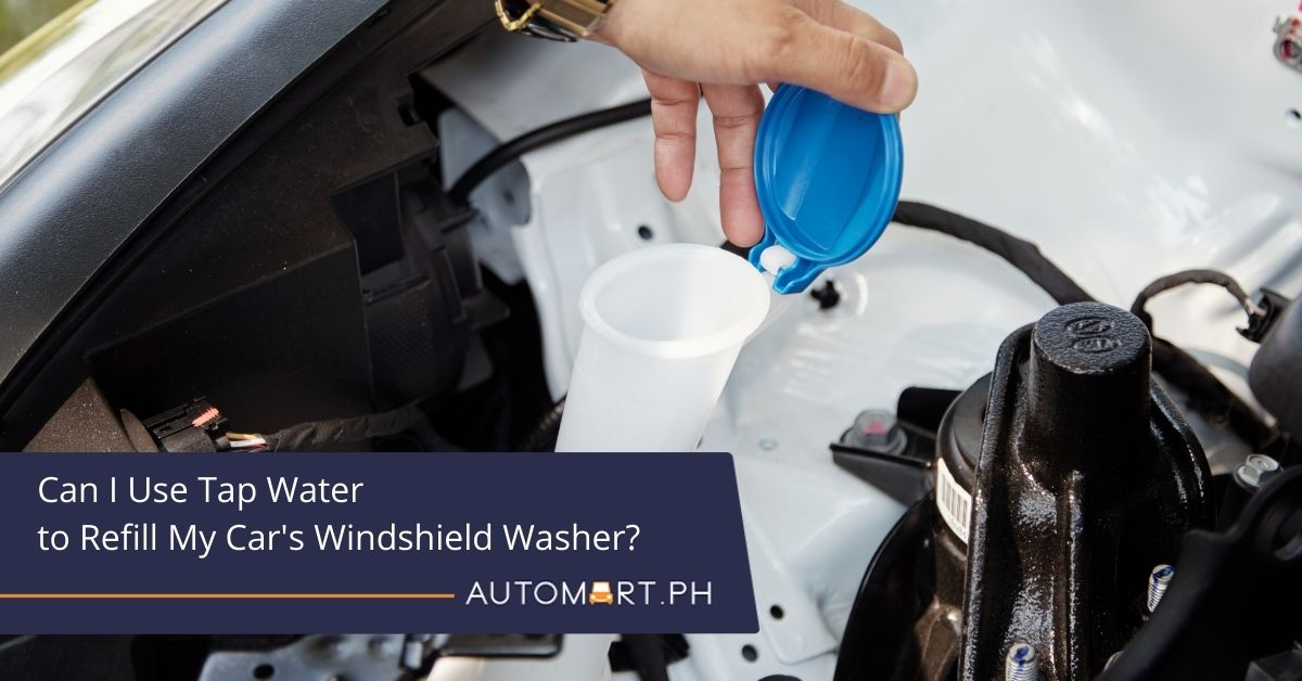 Can I Use Tap Water to Refill My Car's Windshield Washer?