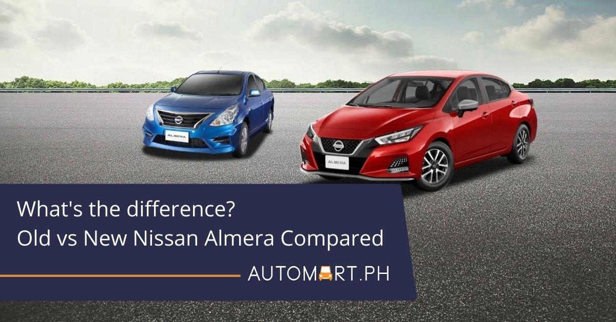 What's the diff? Old vs. new Nissan Almera compared